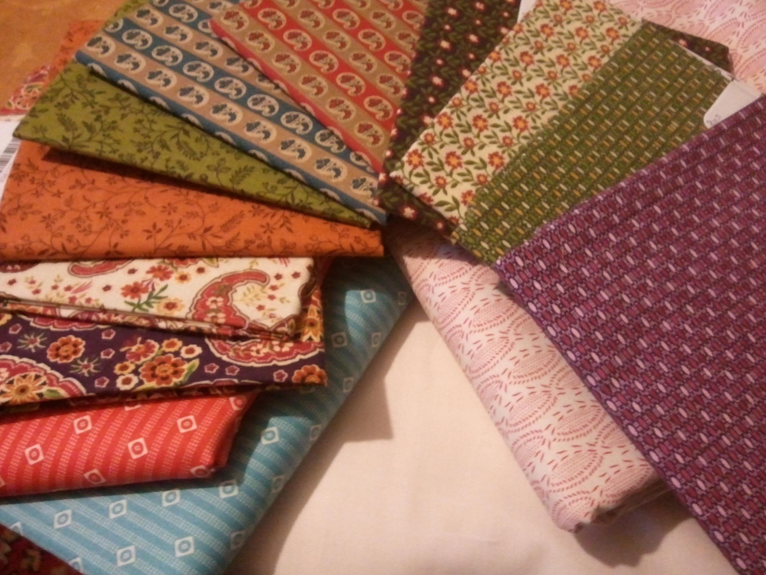 Photo of quilt materials